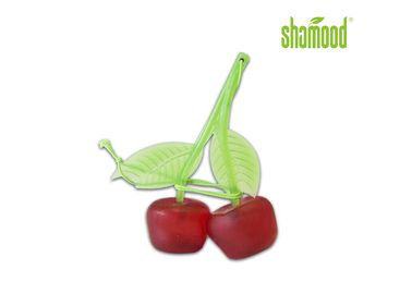Cherry Air Freshener Deco Tampilan belakang Mirrow Hanging Scented Perfume